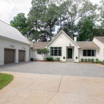 Home built with buckhead construction and buckhead interiors by Siegel construction and design