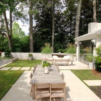Siegel Construction specializes in many things design including exterior and interior design demonstrated in outdoor space